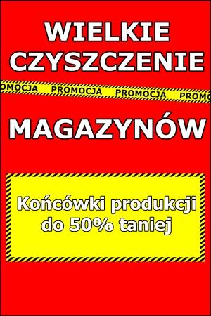 Wyprzedaż magazynowa