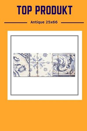Antique Med Blue – rustykalne piękno
