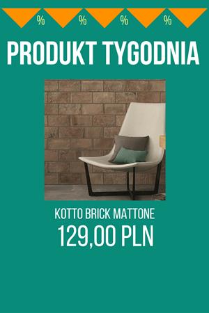 PRODUKT TYGODNIA! – Kotto Brick Mattone