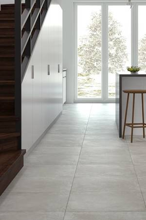 Land Light Grey 60×60 – ciekawa imitacja betonu