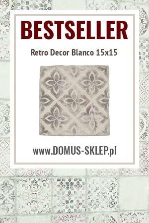 Retro Decor Blanco 15×15 – niepowtarzalna uroda