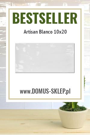 Artisan Blanco 10×20 – falująca cegiełka