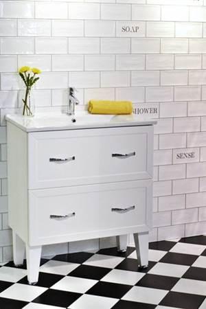 Dekoracja do łazienki – Artisan Bathroom Decor Mix 10×20