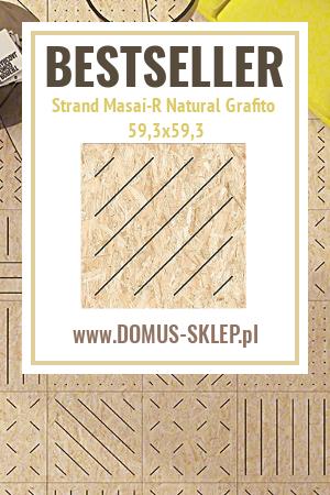 Strand Masai-R Natural Grafito 59,3×59,3