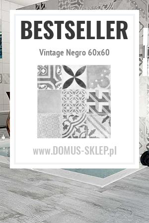 Vintage Negro 60×60