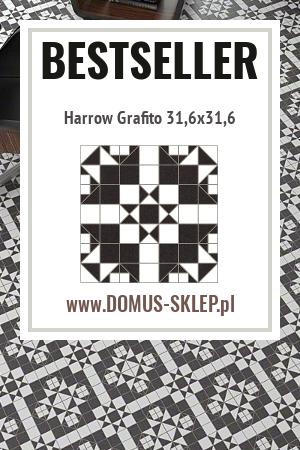 Harrow Grafito 31,6×31,6