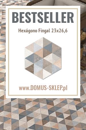 Hexágono Fingal 23×26,6