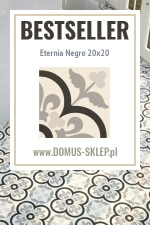Eternia Negro 20×20