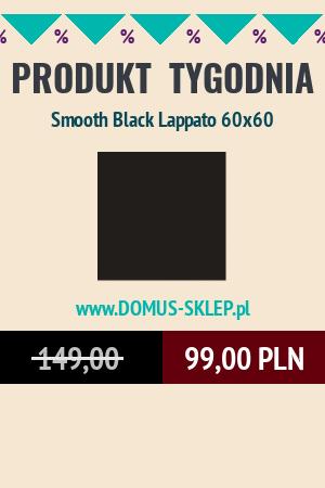 Smooth Black Lappato 60×60
