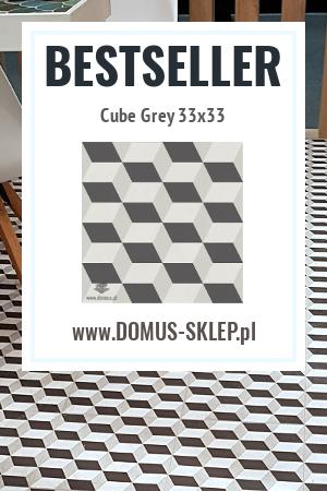 Cube Grey 33×33