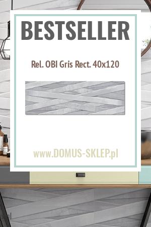 Rel. OBI Gris Rect. 40×120