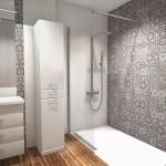 hiszpańskie wzory w łazience