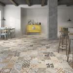 patchwork na podłodze
