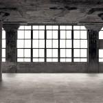 wnętrze w stylu industrialnym