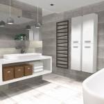 imitacja betonu w łazience
