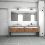 szare płytki n a podłogę do łazienki