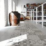 różne wzory na podłogę