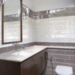 łazienka w cegiełkach