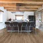 krzesła barowe w kuchni