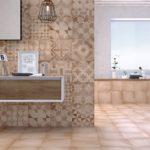 patchwork w łazience