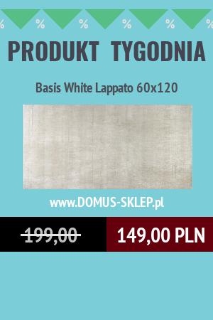 Basis White Lappato 60×120