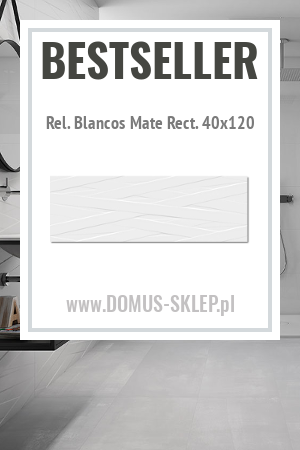 Rel. Blancos Mate Rect. 40×120