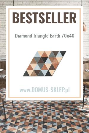 Diamond Triangle Earth 70×40