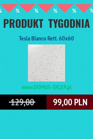 Tesla Blanco Rett. 60×60
