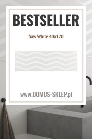 Saw White 40×120
