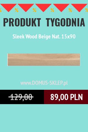 Sleek Wood Beige Nat. 15×90