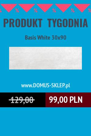 Basis White 30×90