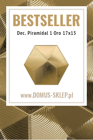 Dec. Piramidal 1 Oro 17×15