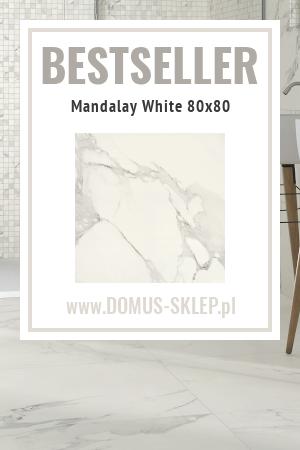 Mandalay White 80×80