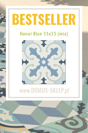 Hanoi Blue 33×33 (mix)