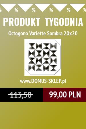 Octogono Variette Sombra 20×20