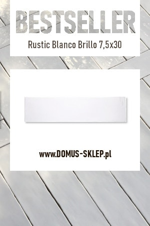 Rustic Blanco Brillo 7,5×30