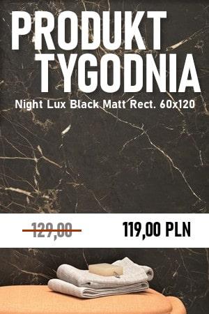 Night Lux Black Matt Rect. 60×120