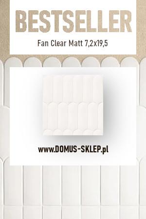 Fan Clear Matt 7,2×19,5