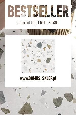 Colorful Light Rett. 80×80