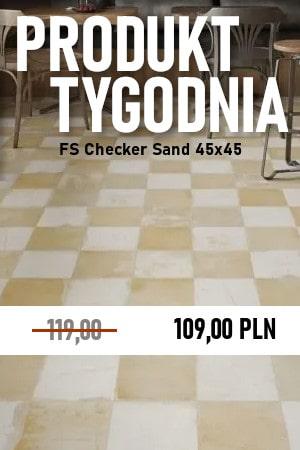 FS Checker Sand 45×45