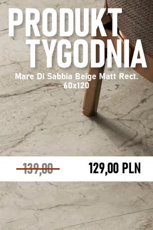 Mare Di Sabbia Beige Matt Rect. 60×120